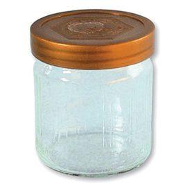 DIB – Honiggläser 500g mit Plastikdeckel gold