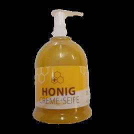 Honig-Creme-Seife mit Spender 250g