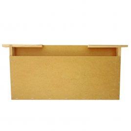 Futtertasche aus Holz, Normalmaß