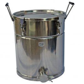 Honig – Abfüllkanne mit Sieb, 35 kg aus Edelstahl