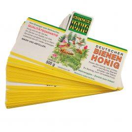 Waldhonig-Etiketten für 500g, nassklebend