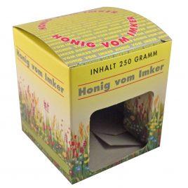 Geschenkkarton 1 Glas Honig 250 g