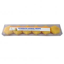 Kleine Pfirsich-Honig Gästeseife 6 Stück 20g