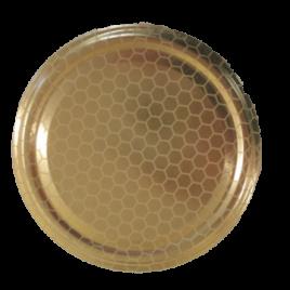 Deckel extra, Bienenwabe/Gold, 82 to