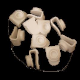 RuBee® Rähmchenklemme 10mm
